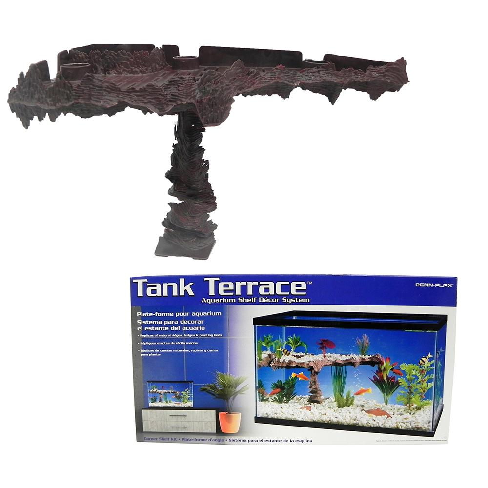 Penn Plax Tank Terrace Aquarium Ornament