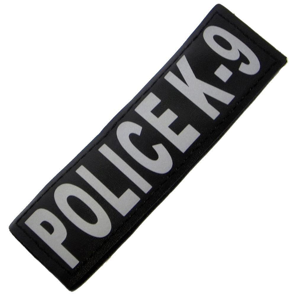 Removable Velcro Patch Police K-9 Large / XLarge