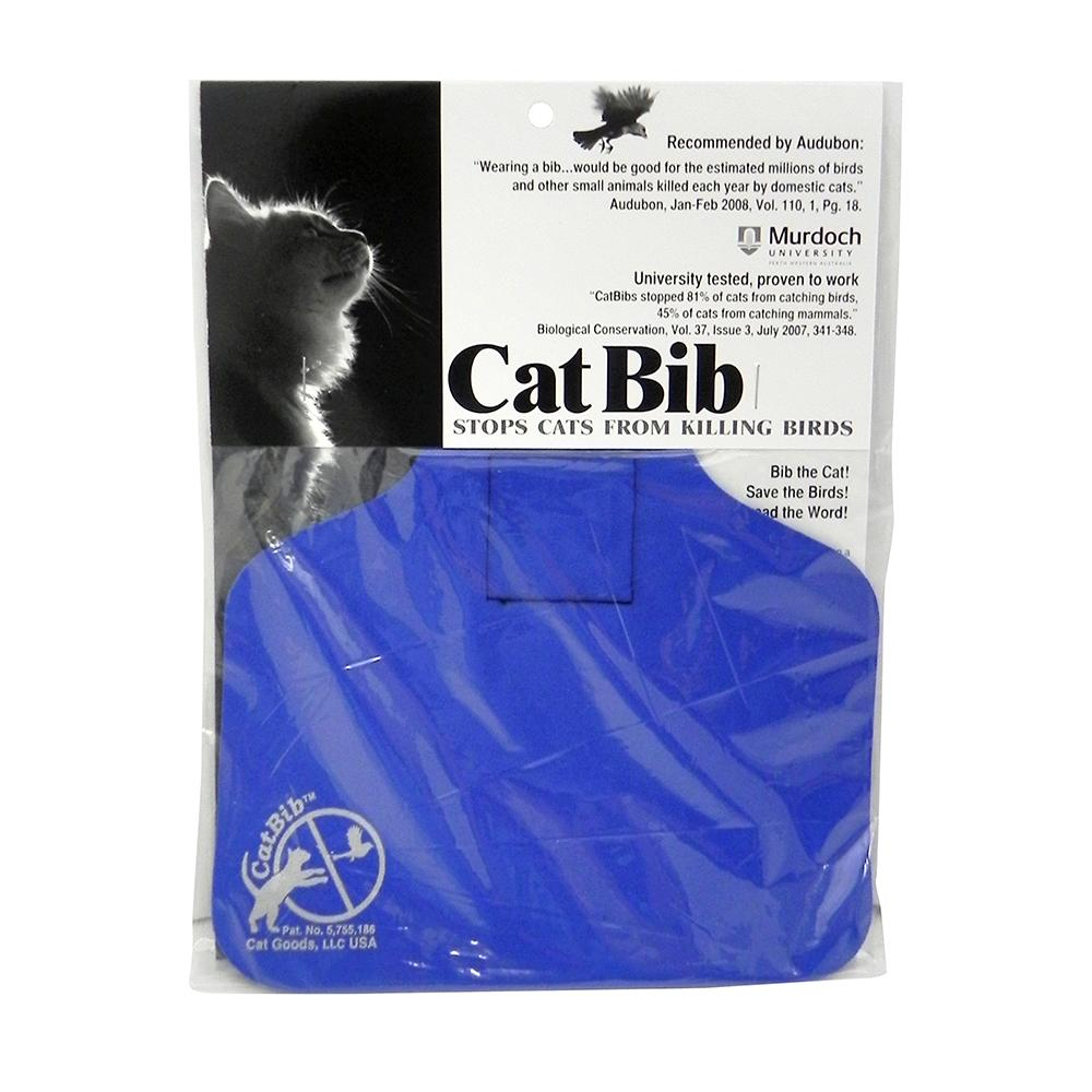 CatBib WildBird Saver Royal Blue Big