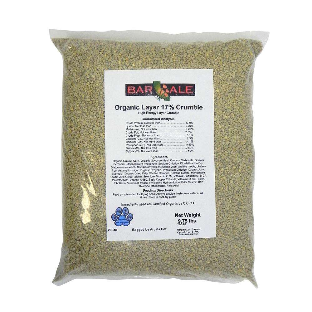 Organic Pride Chicken Layer Crumble 9.75 Lb