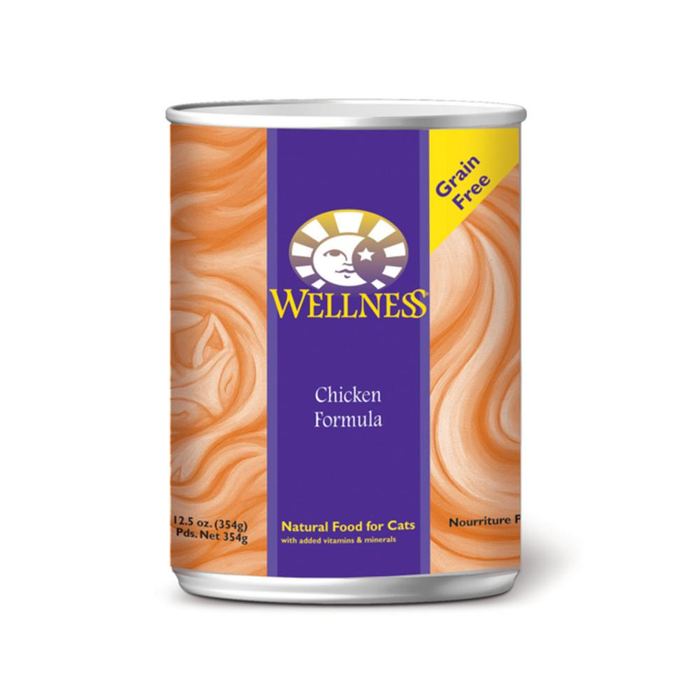 Wellness Cat Ckn 13oz each