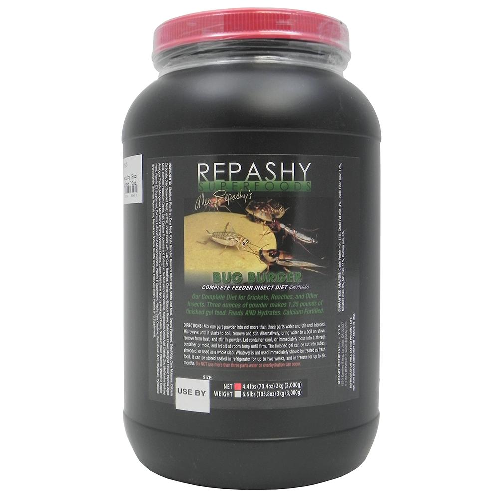 Repashy Bug Burger Feeder Insect Diet 70oz