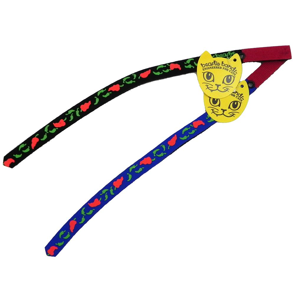 Beastie Band Cat Collar Hot Chile Peppers