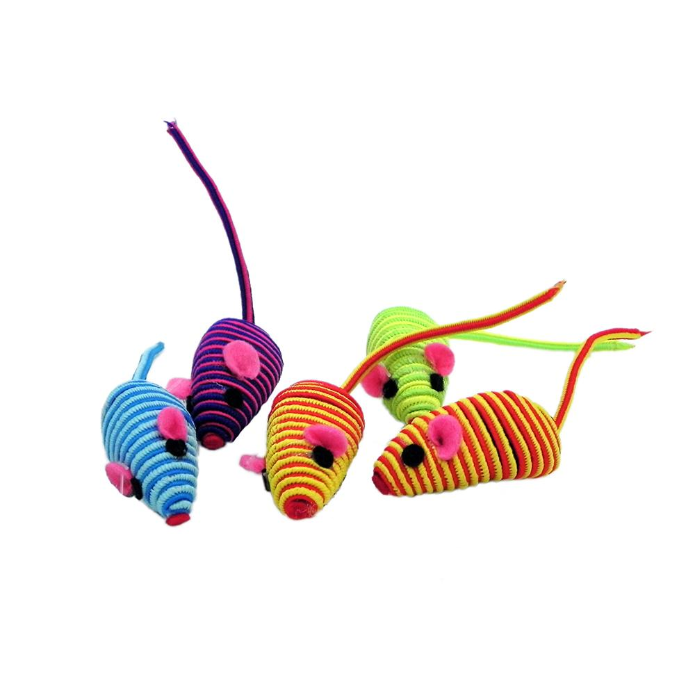 Zanies Hypno Mouse Cat Toy 5 pack