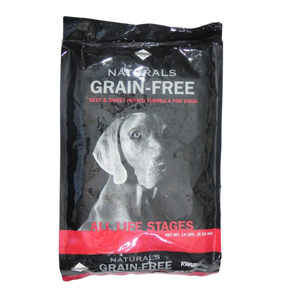 Diamond Naturals Grain Free Beef 14lb