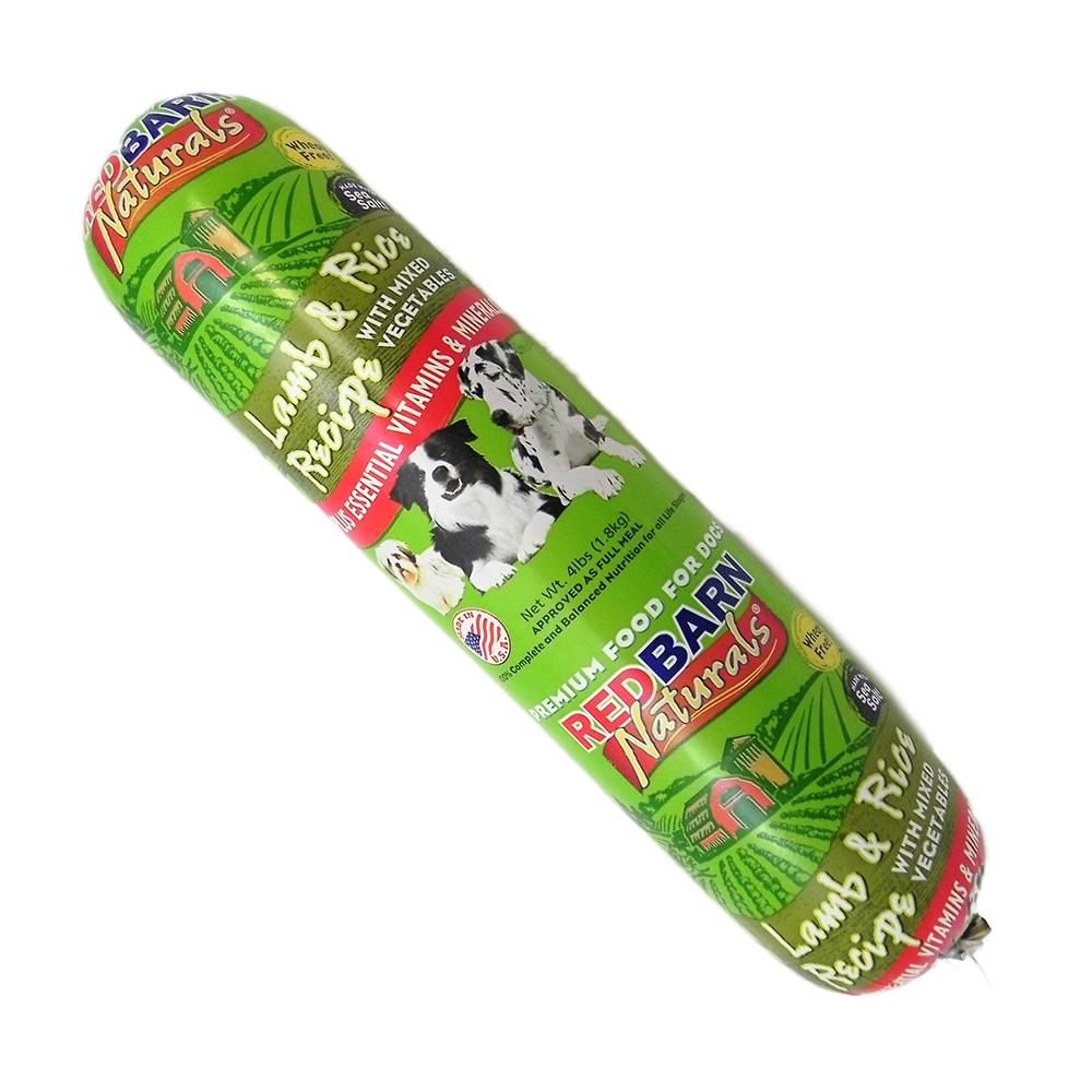 Redbarn Lamb Roll Dog Food Roll 4 lb