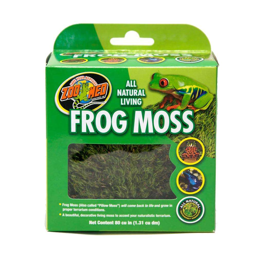 Zoo Med All Natural Living Frog Moss 80 cu in