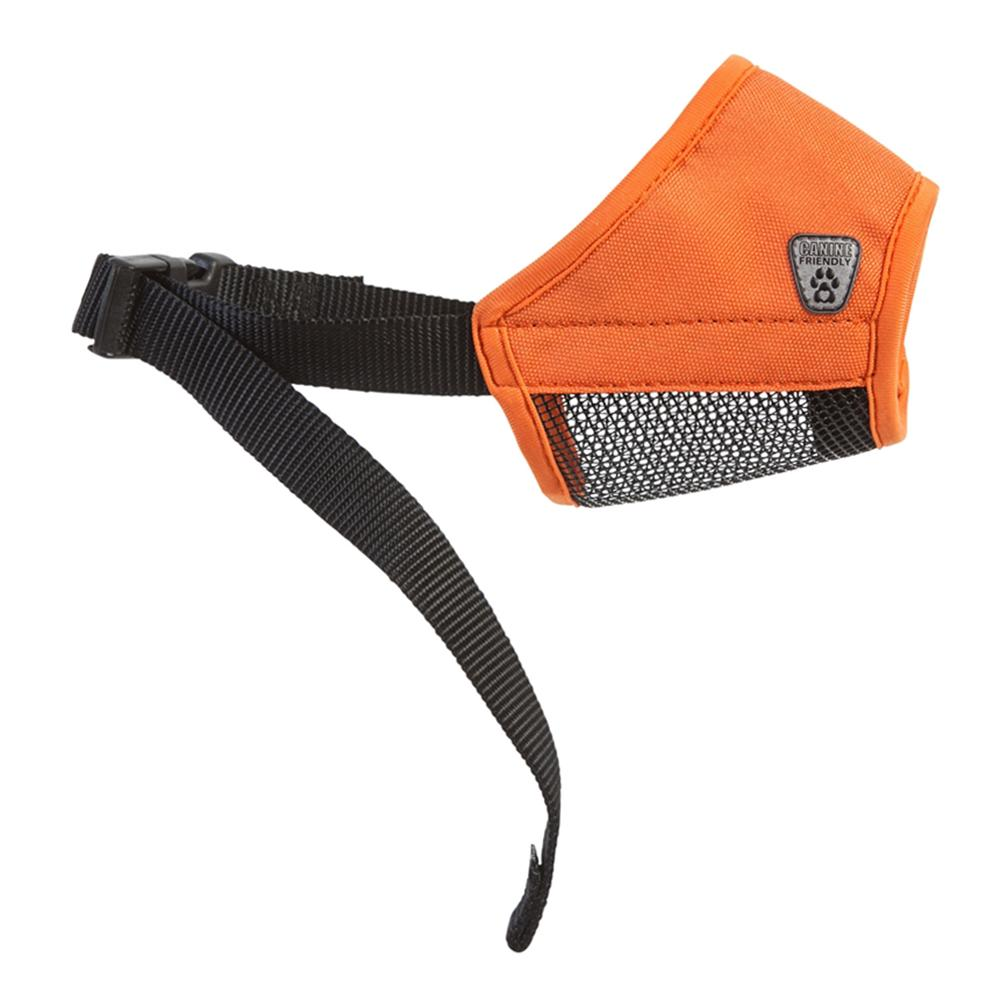Soft Fit Muzzle Orange XXSmall 3-inch