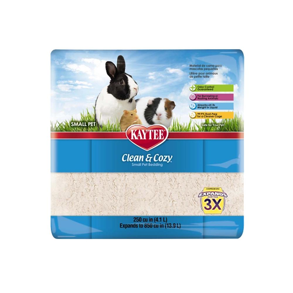 Clean and Cozy Rose Scented Small Animal Bedding 4 Litre