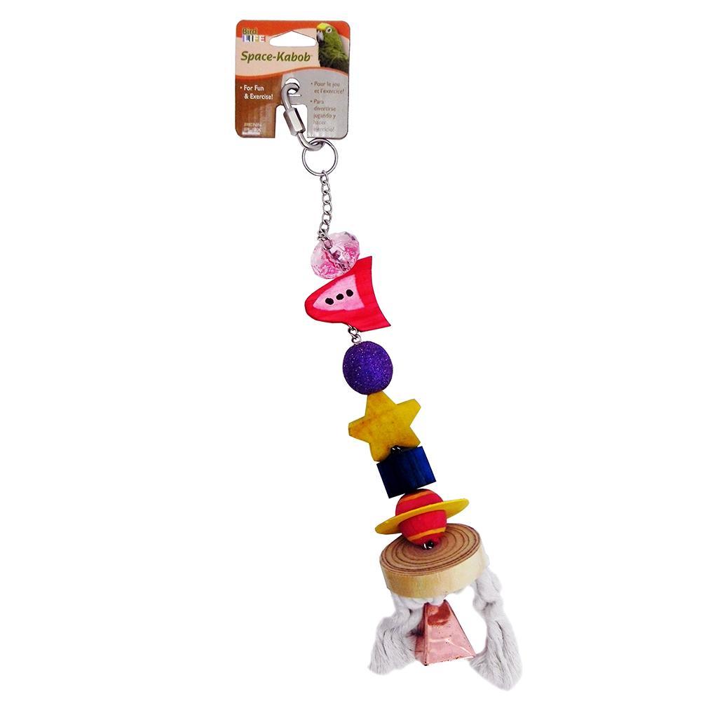 Penn Plax Space Kabob Xlarge Bird Toy