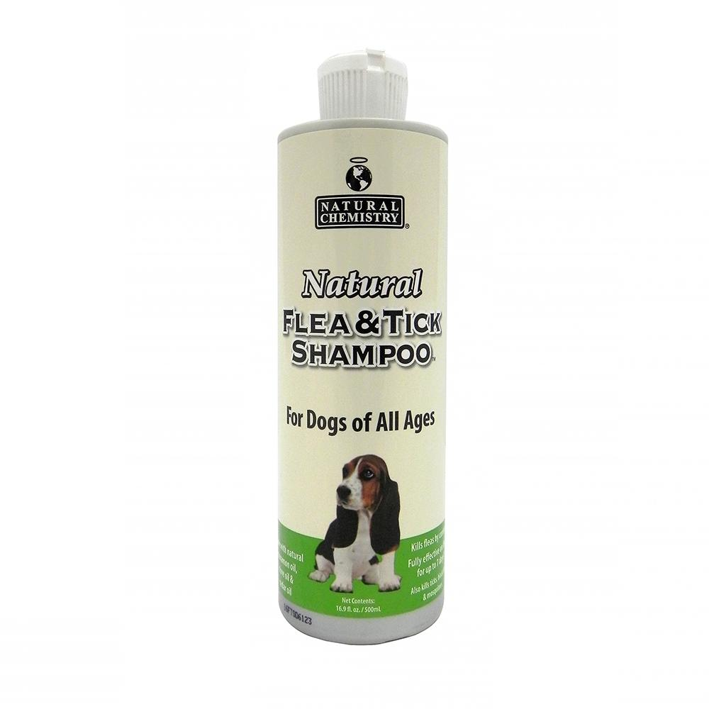 Natural Chemistry Dog Flea Shampoo 16.9 oz