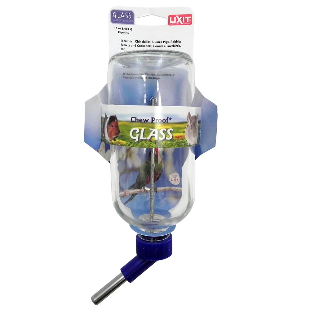 Glass Small Animal Waterer 16oz