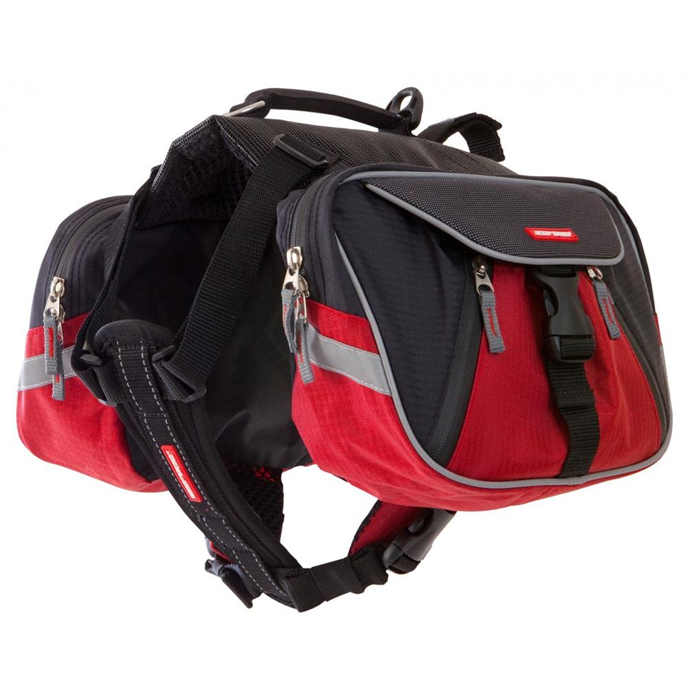 EzyDog Summit Backpack Red/Black XLarge