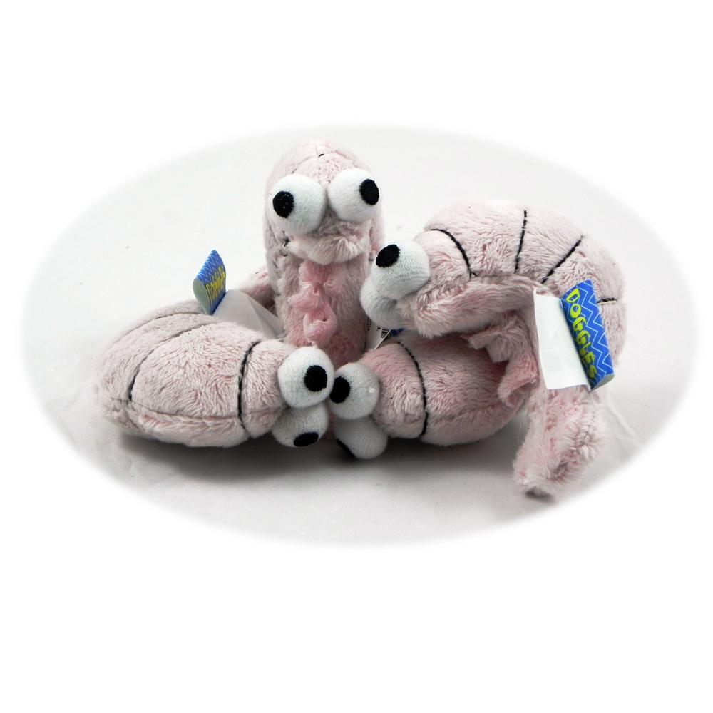 Sushi Pink Shrimp Catnip Cat Toy 6 pack