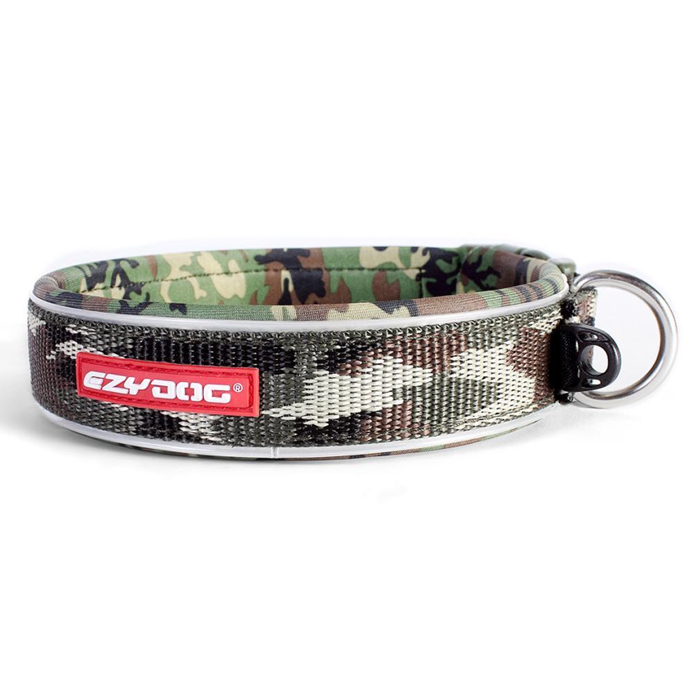 EzyDog Neo Collar Adjustable Green Camo XLarge