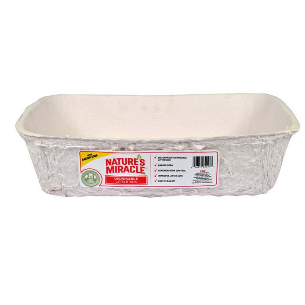 Nature's Miracle Disposable Cat and Small Animal Litter Pan