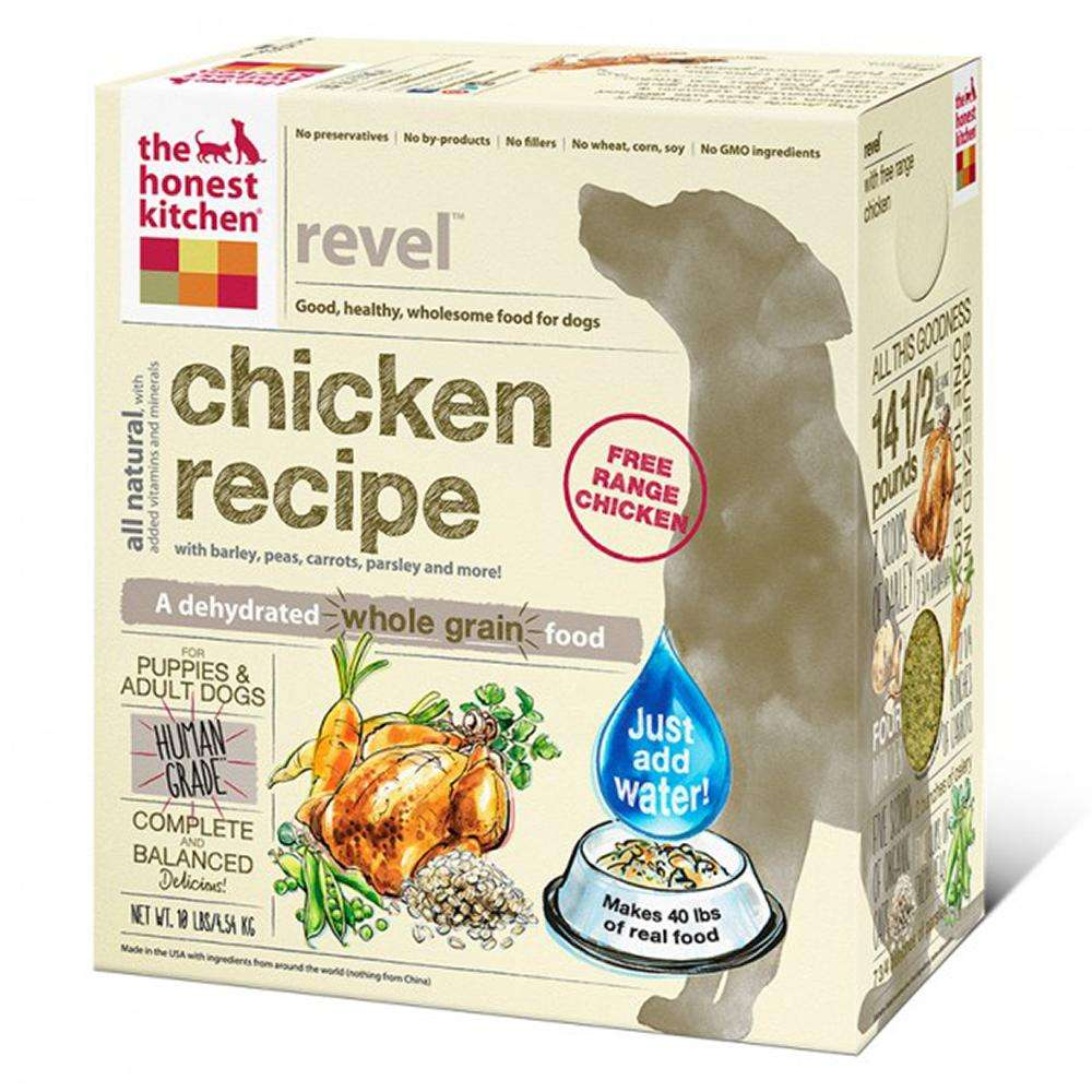 Honest Kitchen Revel Dehydrated RAW Dog Food  10 lb