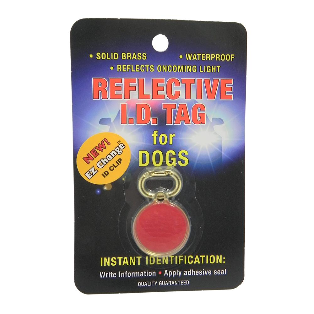 Coastal Safety Pet ID Tag Reflective Dog