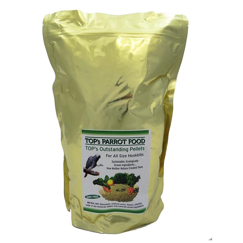 TOP's Cold-Pressed Organic Pellets Bird Food 4Lb.