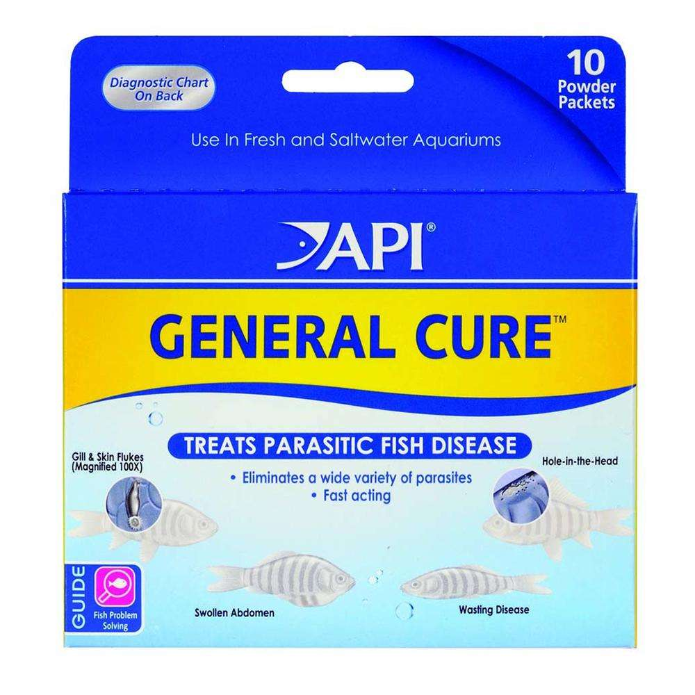 API General Cure Aquarium Fish Medication 10ct.