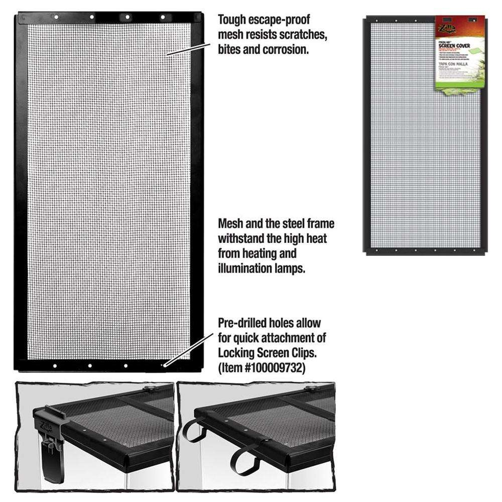 Zilla Terrarium Screen Cover 12 x 24-inch