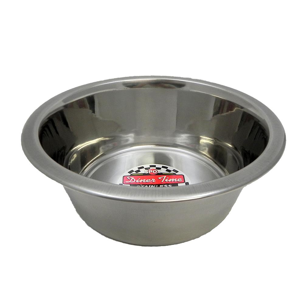 Stainless Steel Dog Food/Water Bowl 2 Qt 2 pack