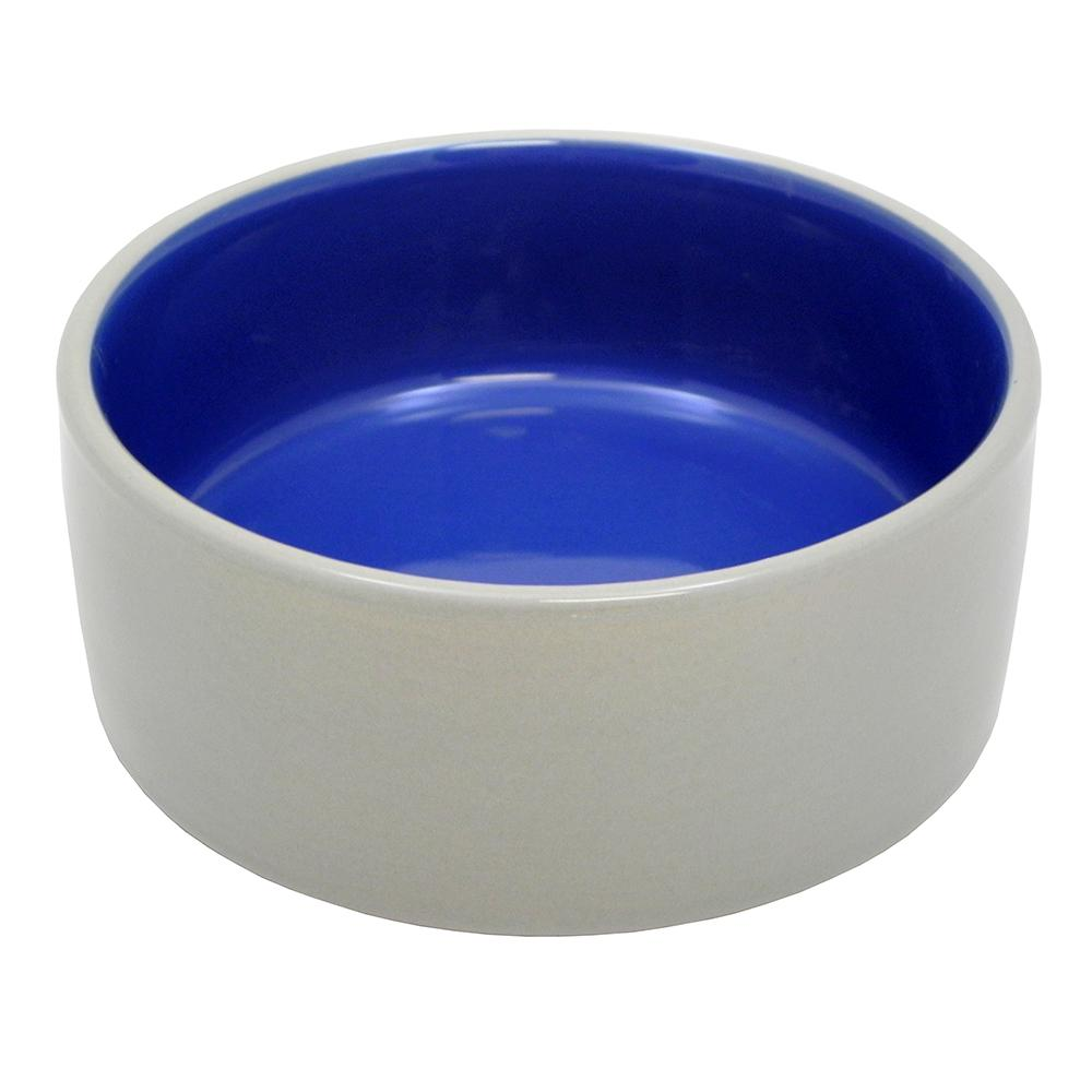 Stoneware Pet Food and Water Crock 5 inch 2 pack