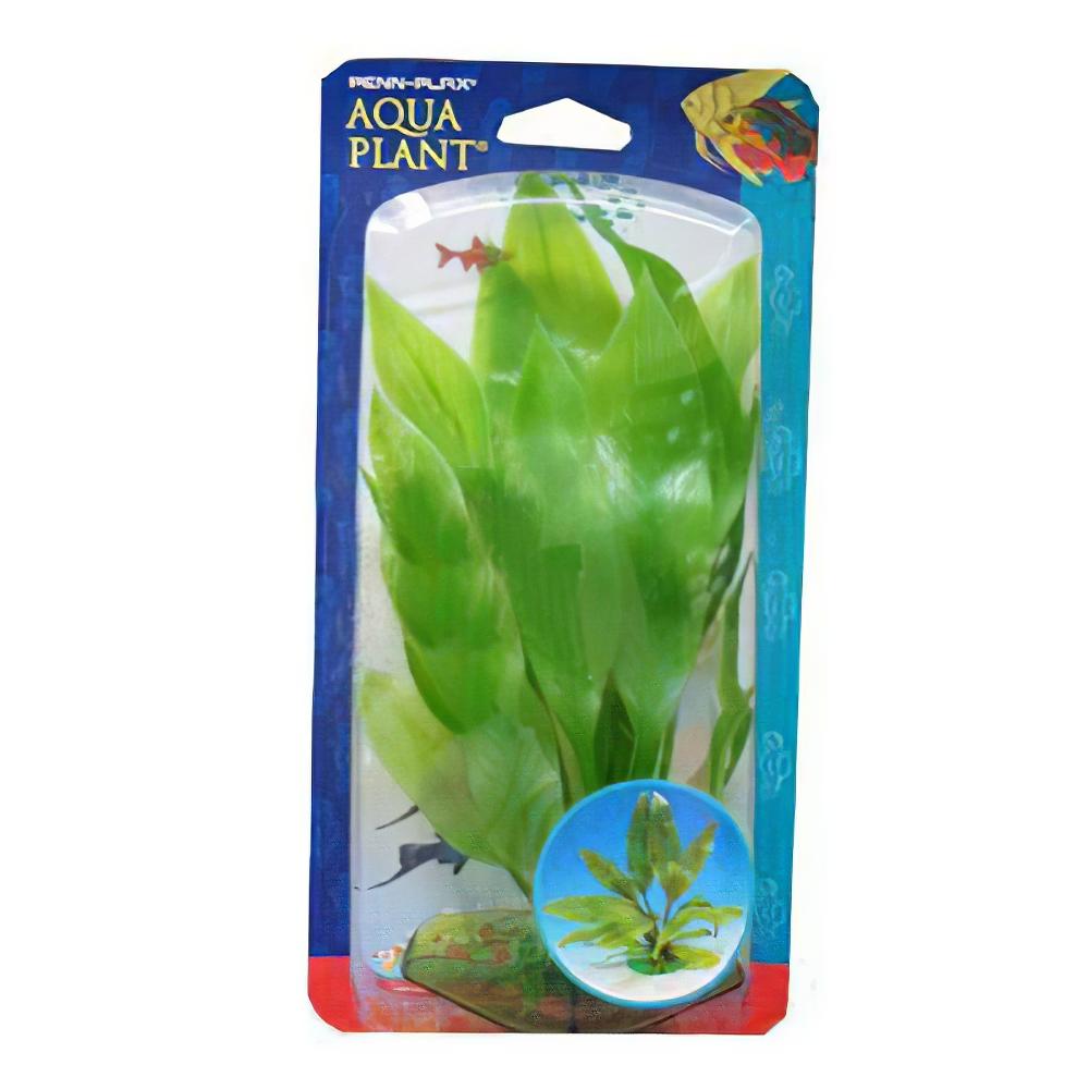 Amazon Sword Aquarium Plastic Plant Large 3 Pack