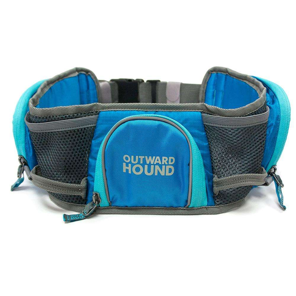 Outward Hound Hipster Dog Walking Hip Pack Blue