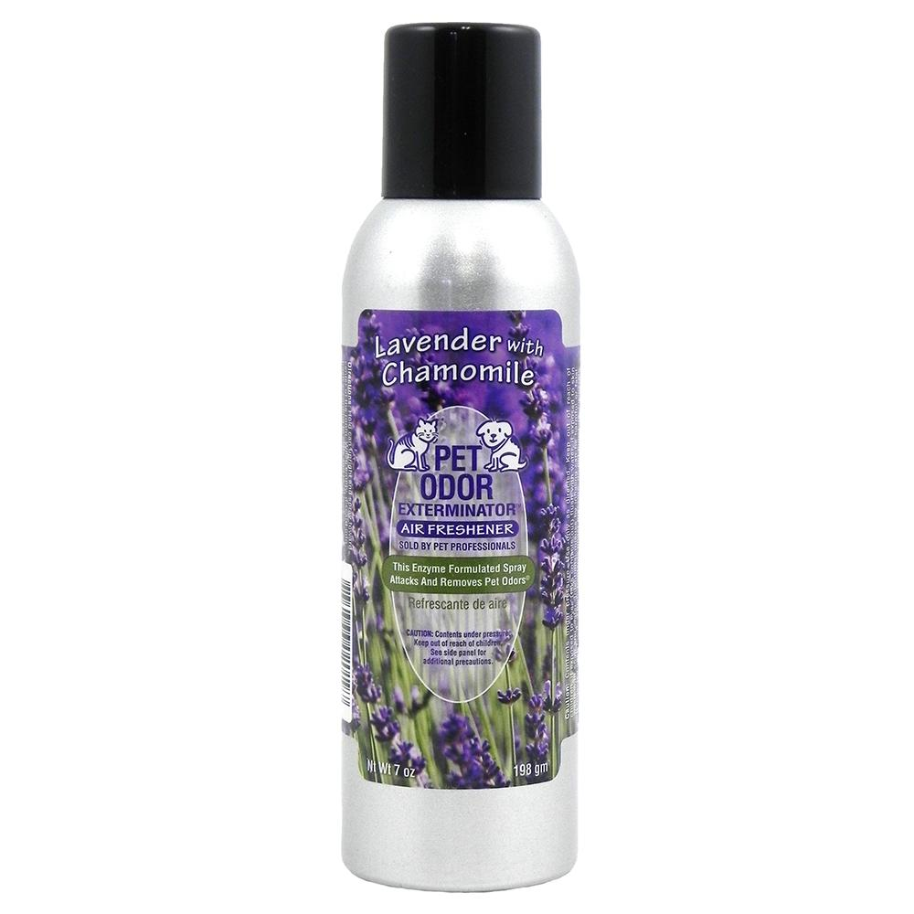 Pet Odor Eliminator Air Freshener Lavender 7oz.
