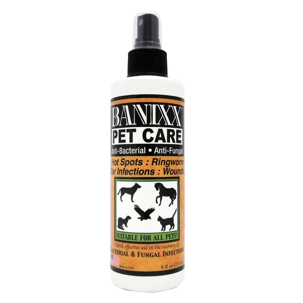 Banixx Anti Bacterial and Fungal Wound Care Spray 8oz.