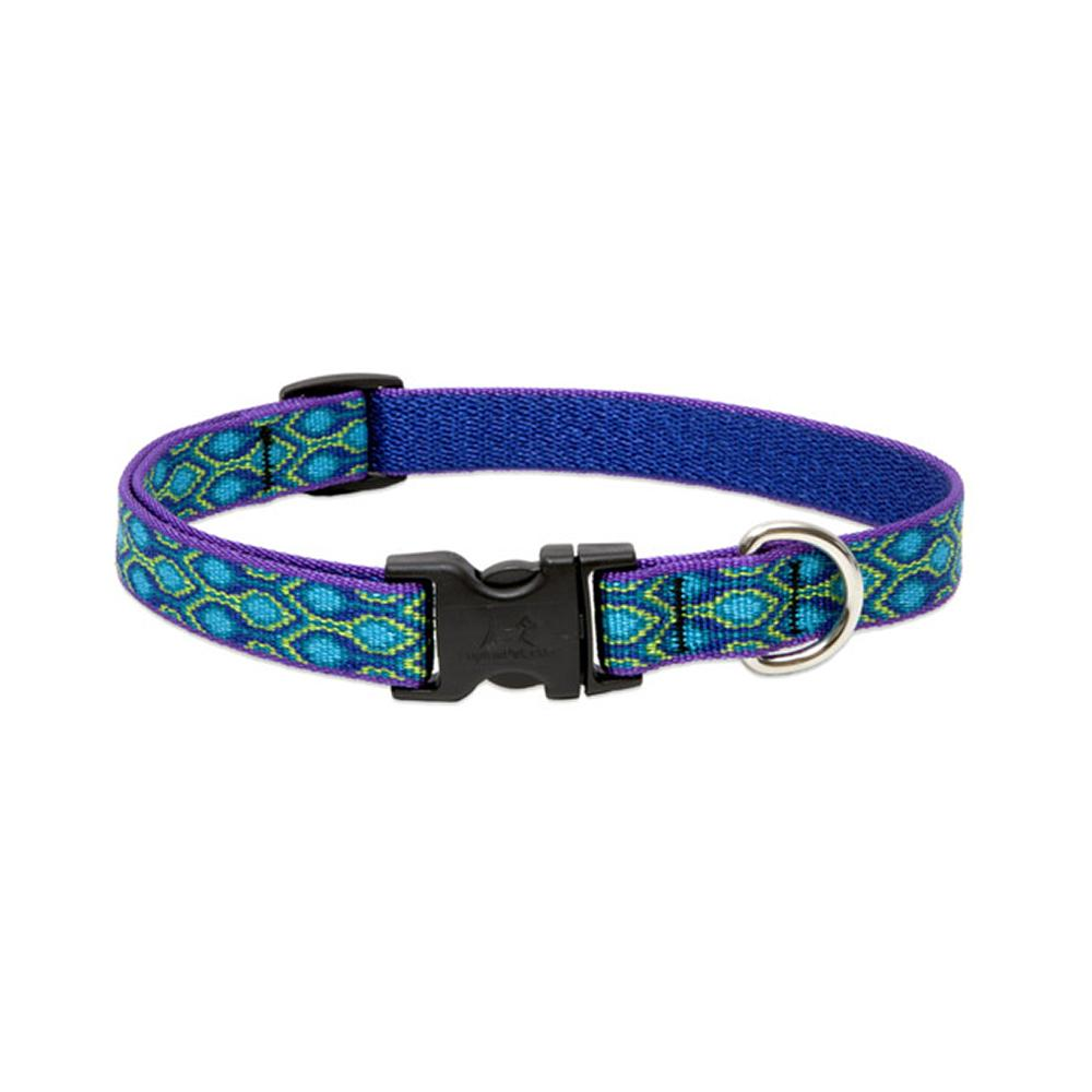 Dog Collar Adjustable Nylon Rain Song 9-14 inch