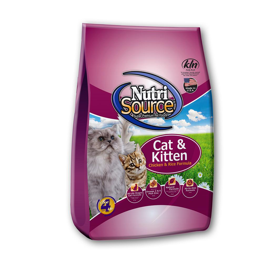 NutriSource Chicken Rice Kitten 6.6lb