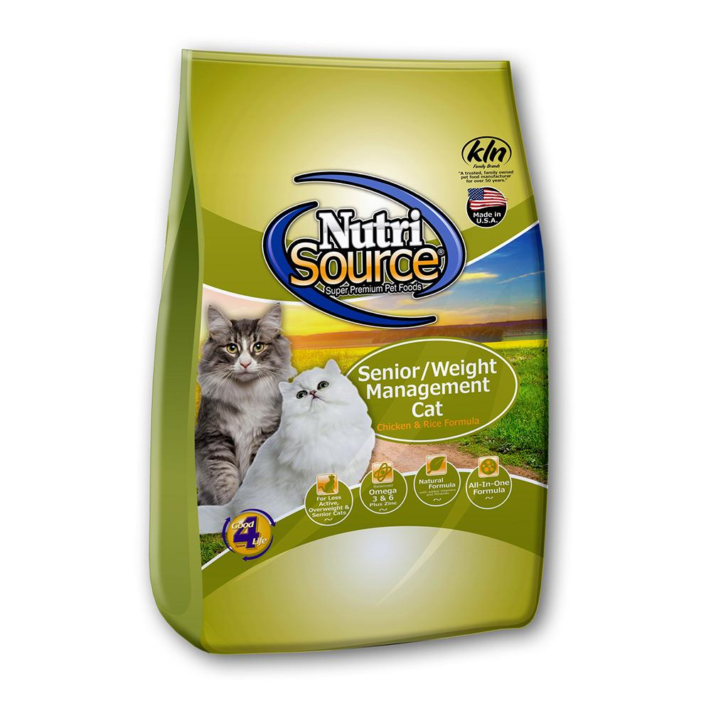 NutriSource Senior/Weight Management Cat Food 1.5Lb.