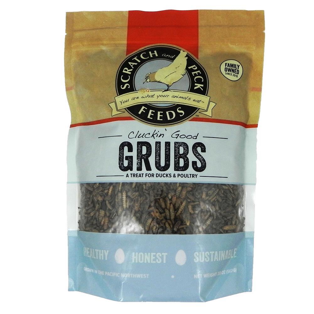 Cluckin Good Grubs Chicken Treat 1.25lb