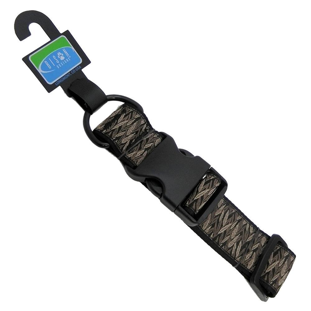 Bison Designs Adjustable 1.5in Wide Collar Durham 10-16in