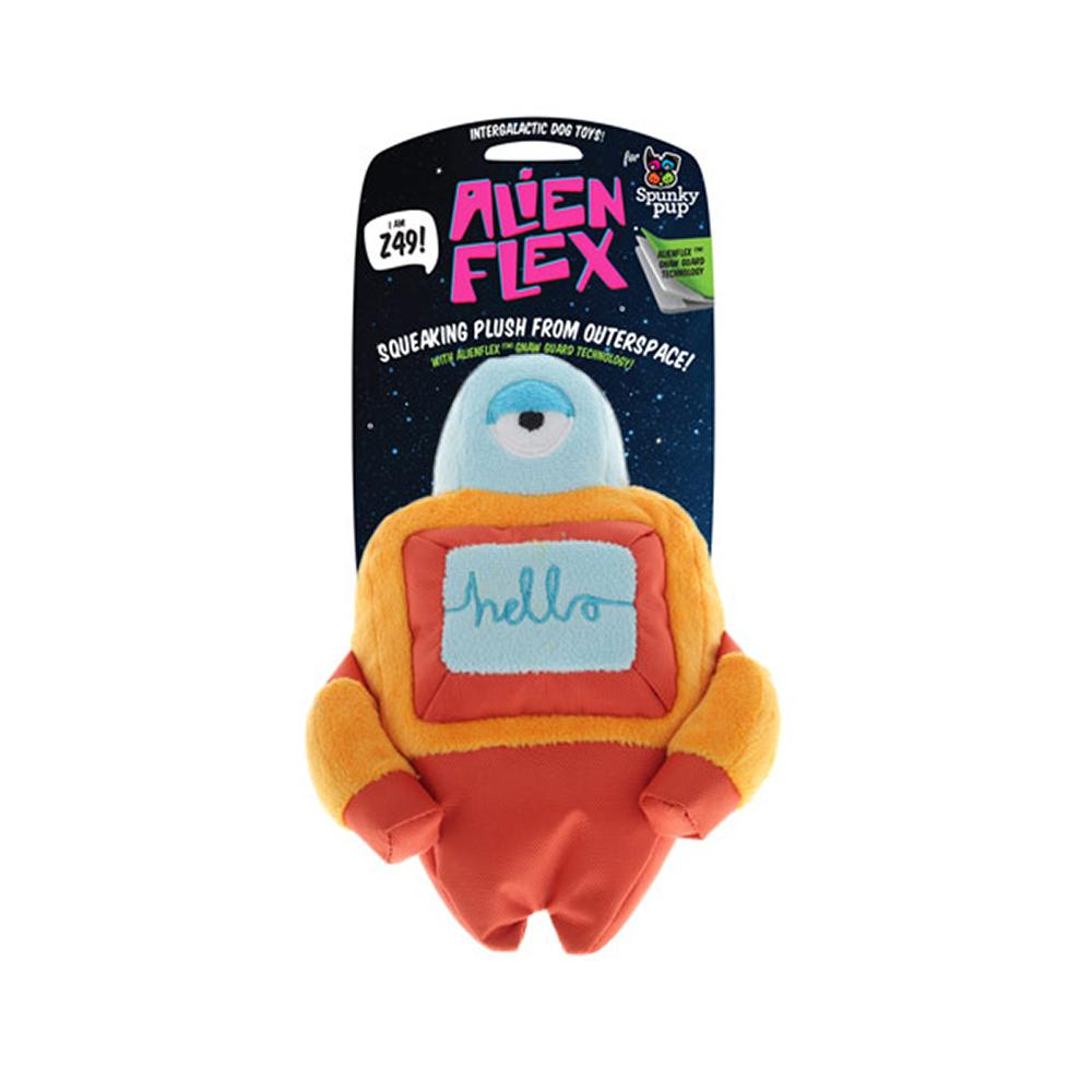 Spunky Alien Z49 Soft Dog Toy Wtih Squeaker