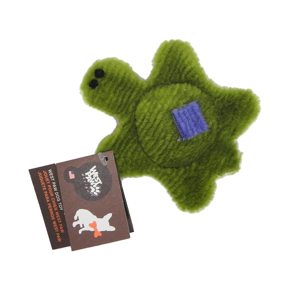 West Paw Tiny Turtle Plush Dog Toy
