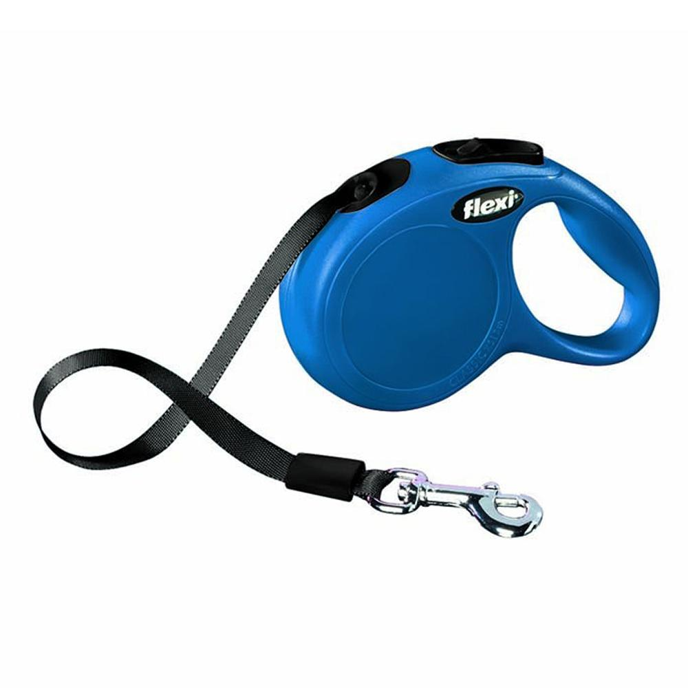 Flexi XSmall Blue Retractable Tape Dog Leash