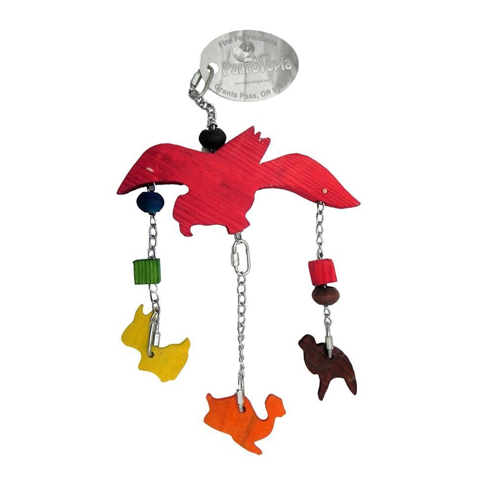 ParroTopia Noahs Ark Parrot Toy