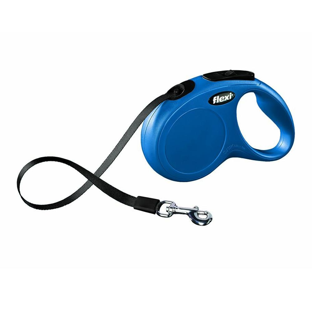 Flexi Medium Small Blue Retractable Tape Dog Leash