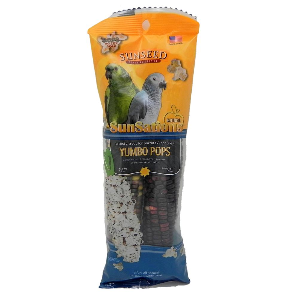 Yumbo Pops Microwaveable Treat for Birds and Small Animals