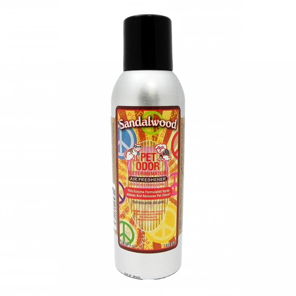 Pet Odor Eliminator Air Freshener Sandalwood 7oz.