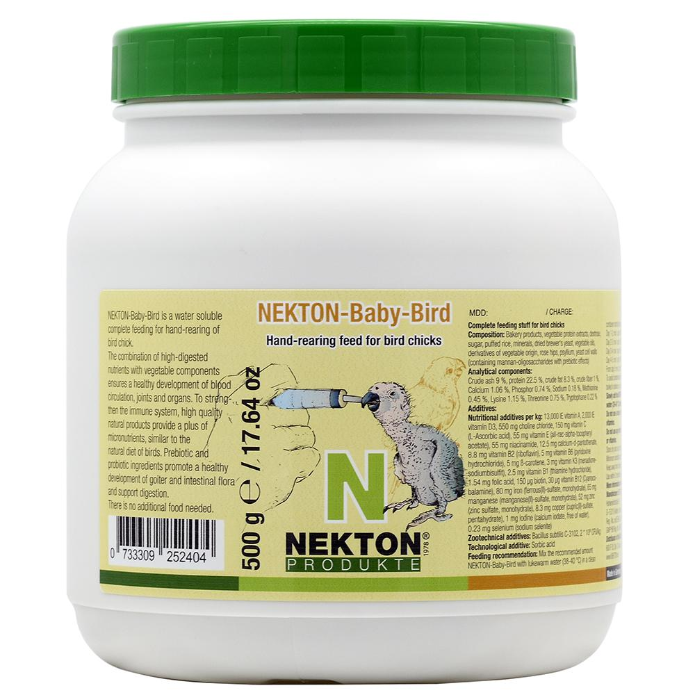 Nekton-Baby-Bird Handfeeding Formula for Birds 400g (14oz)