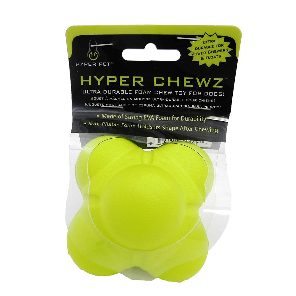 Hyper Pet Hyper Chewz Bumpy Ball Dog Toy