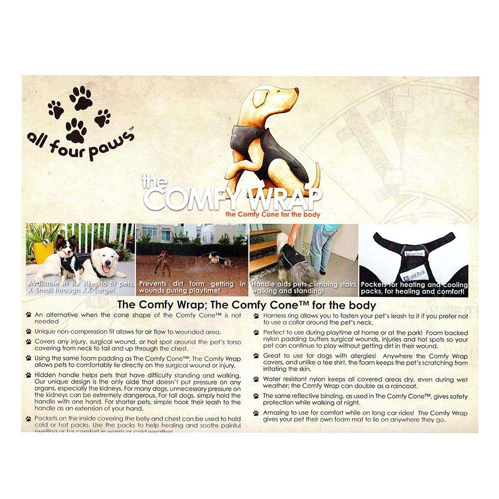 Comfy Wrap Body Protection for Dogs Medium