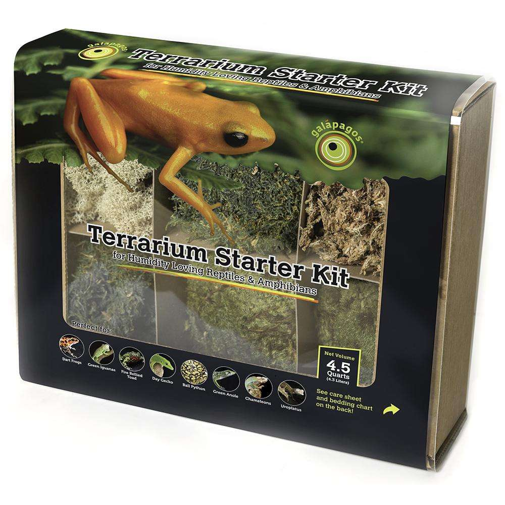 Galapagos Terrarium Deco Starter Kit for Humid Enviro