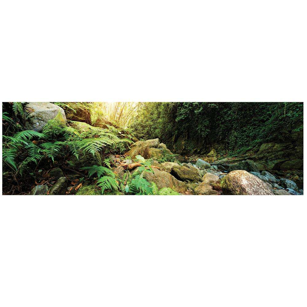 Galapagos Woodland Terrarium Cling Background 11.1 x 36-in.
