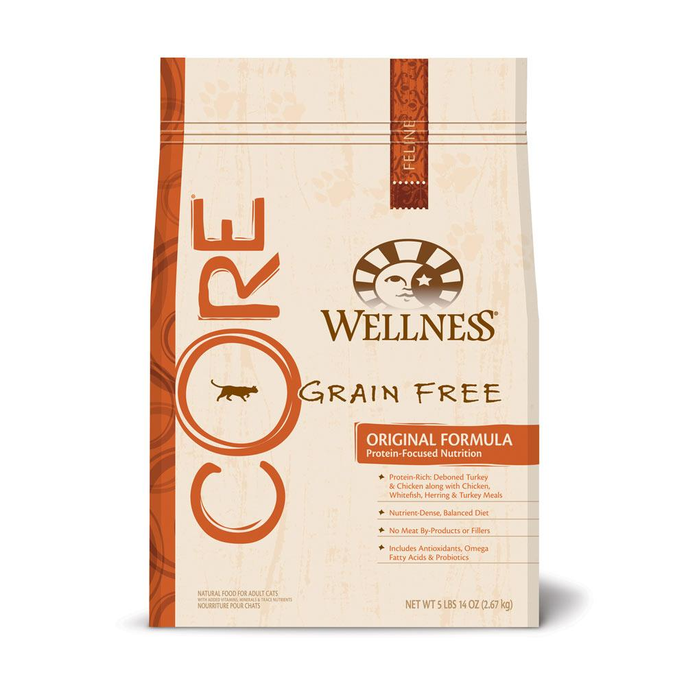 Wellness Core Grain-Free All Life Stage Dry Cat Food 5 Lb.