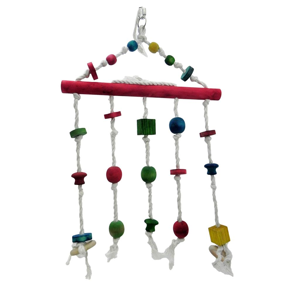 ParroTopia Beautiful Medium to Large Natural Bird Toy